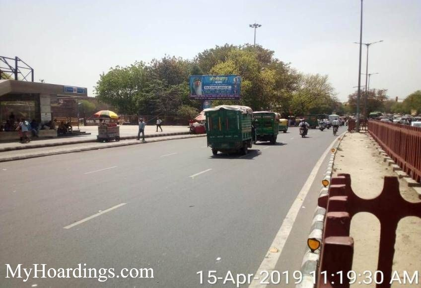 OOH Hoardings Agency in India, highway Hoardings advertising in Opp Bhagirath Place towards Daryaganj New Delhi, Hoardings Agency in New Delhi
