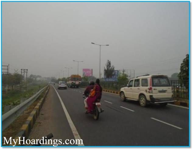 OOH Hoardings Agency in India, Highway Unipole Advertising in Lucknow, Hoardings Agency Shaheed Path in Lucknow