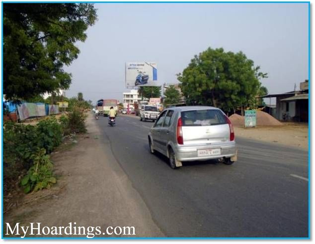 Unipole at Sultanpur Road in Lucknow, Best outdoor advertising company UP
