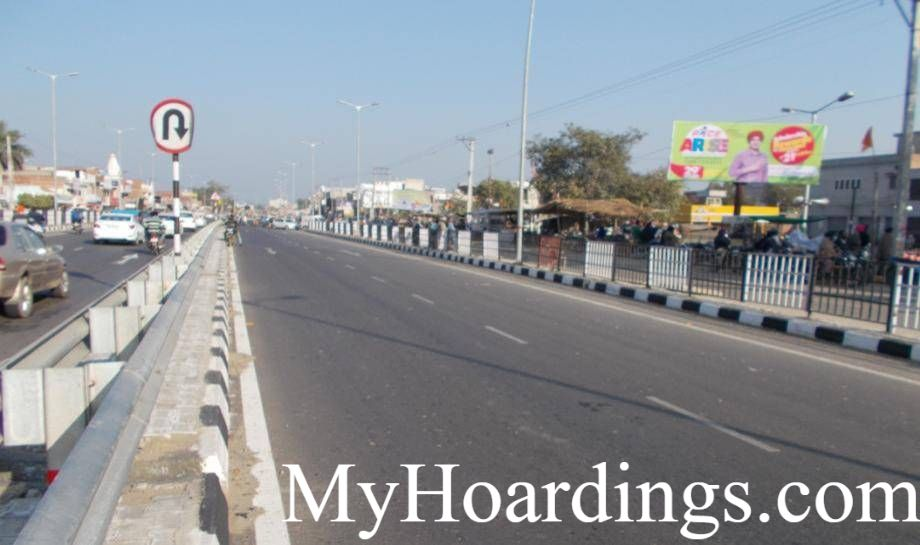 Unipole Advertising Bus Stand in Bhawanigarh, Bhawanigarh Billboard advertising