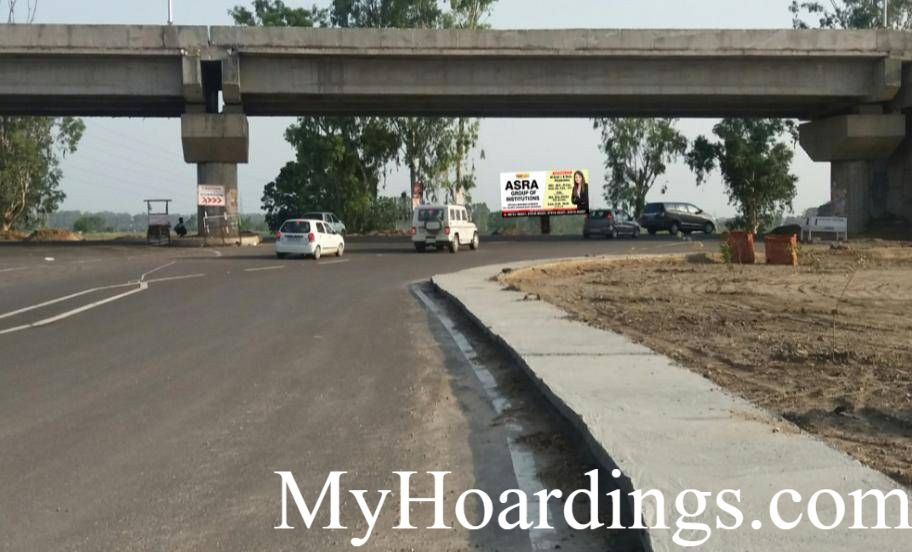 Best OOH Ad agency in Patiala, Unipole Company Patiala, Hoardings Rates in Sangrur y pass in Patiala