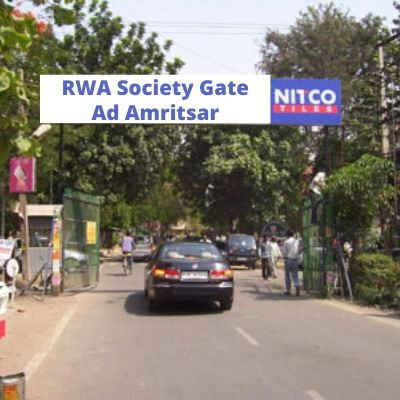 How to advertise in RWA Veer Enclave Apartments Gate? RWA Apartment Advertising Agency in Amritsar
