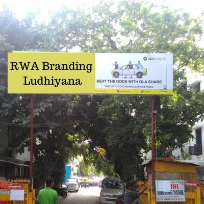 RWA Advertising options in Windsor Apartments Ludhiana, Society Gate Ad company in Ludhiana