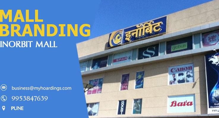 Mall Media in Pune,Advertising in InOrbit Mall. Transit media and Hoarding advertising in Pune Maharashtra