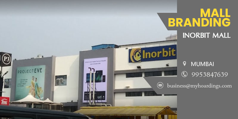 Shopping Mall Branding in Mumbai,Advertising in Inorbit Mall. How can we showcase product / service in shopping malls in Mumbai