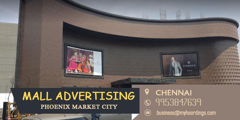 Mall Advertising in Chennai,Advertising in Phoenix Market City. Mall Branding and Advertising in Chennai. Mall Media in Tamil Nadu