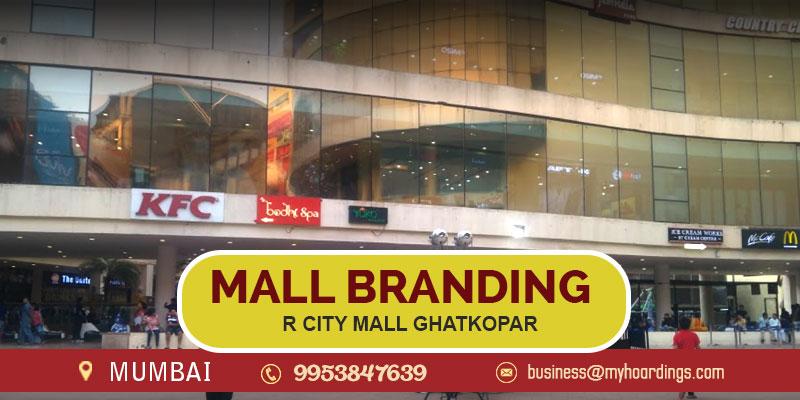 hopping Mall Advertising in Mumbai,Branding in R City Mall Ghatkopar. How to promote business in Mumbai Malls