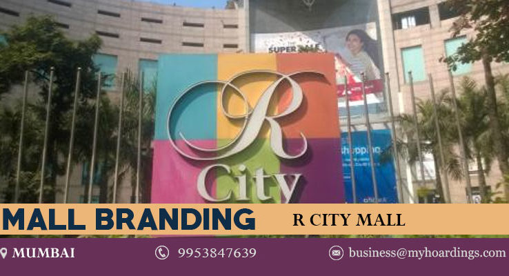 Mall Branding in Mumbai,Branding in R City Mall. How to showcase and promote products in Mumbai shopping malls ? Ads in R city Mall Advertising.