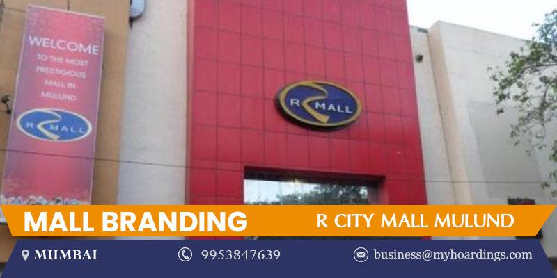 Mall Media in Mumbai,Advertising in R City Mall Mulund.Mumbai Ambience Branding Agency,Mall Branding services
