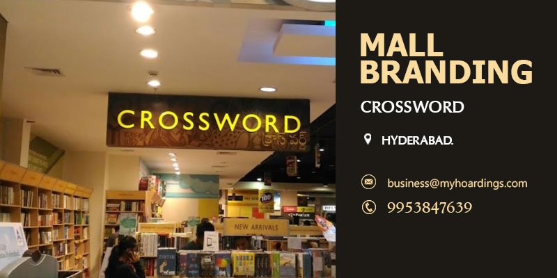 Contact BEST agency for Mall Branding in Hyderabad,Mall Media Branding in Crossword.Mall Branding Services,Mall Media