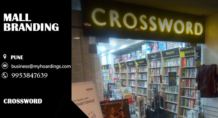 Branding in CrosswordPune. Advertising services in Pune Crossword. Contact 995384-7639 for Mall Advertising in Pune,Branding in Crossword.