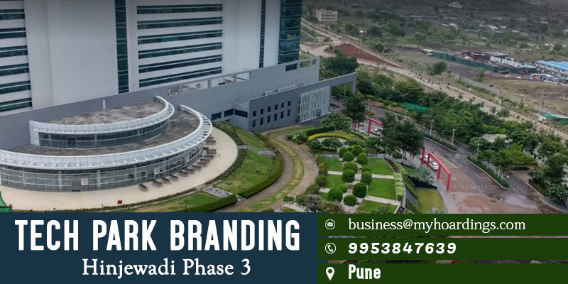 Advertisement Activation in Pune Tech Parks.How to do Corporate Office Branding in Pune? Backlit display boxes in Pune software offices.
