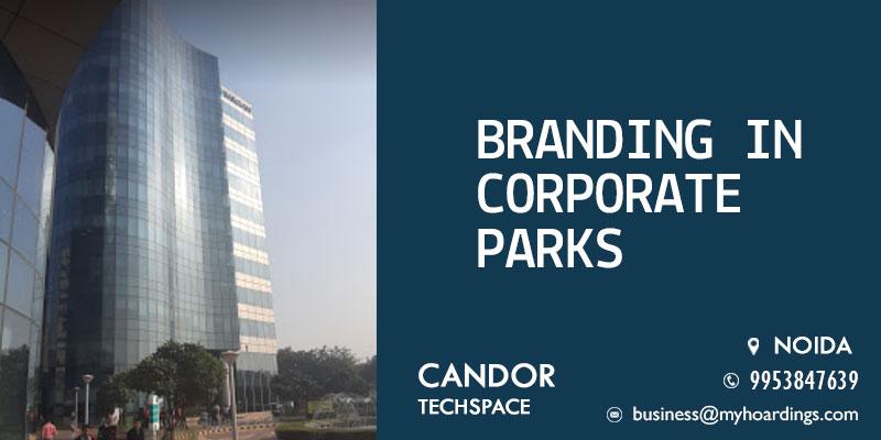 Branding in Candor TechSpace Noida