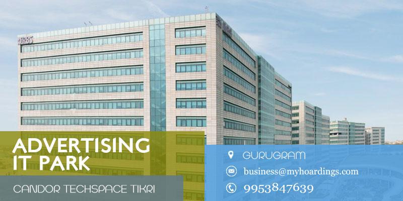 Branding in Candor TechSpace Tikri, Gurugram