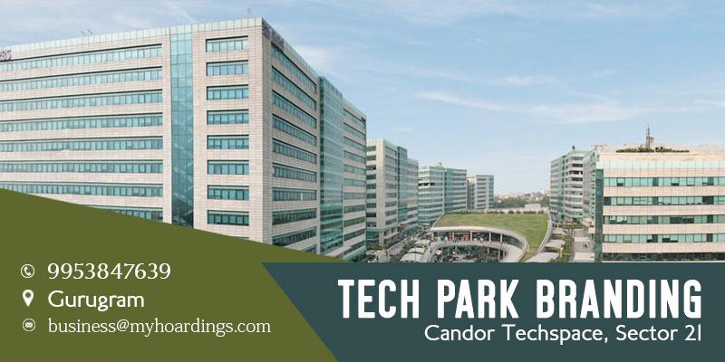 Advertisement in Candor Techspace, Sector 21, Gurugram