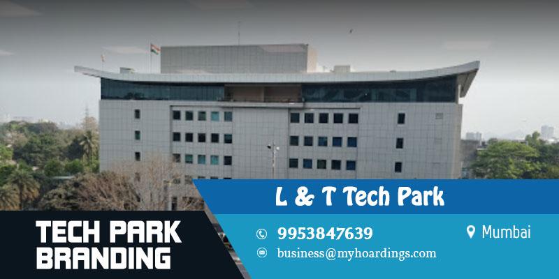 Branding in L&T Tech Park,Mumbai