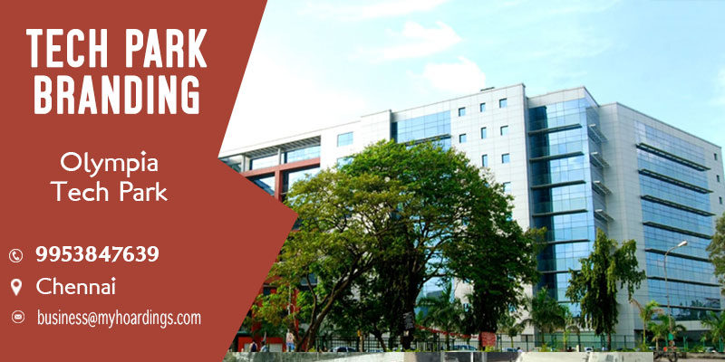 Branding in Chennai Corporate parks. Branding in Olympia Tech Park,Tech park Activation agency in Chennai