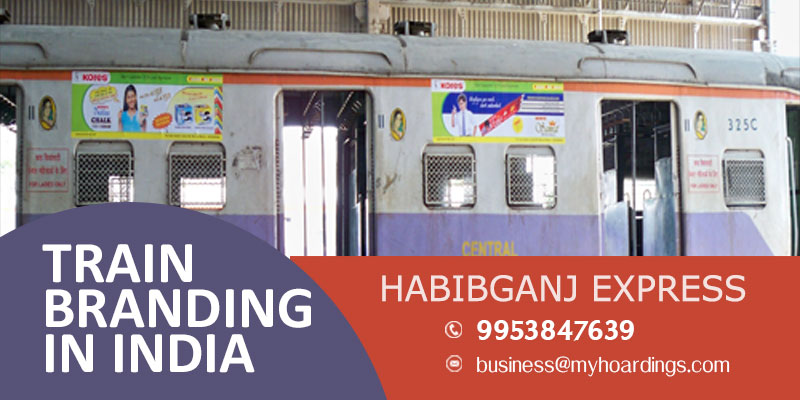 Branding on Habibganj Expresss