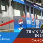 Train wrap branding on GYAN GANGA Express Train
