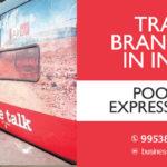 Poorna Express Train wrap advertising