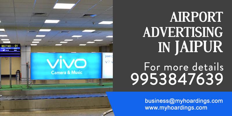 Branding at Jaipur Airport