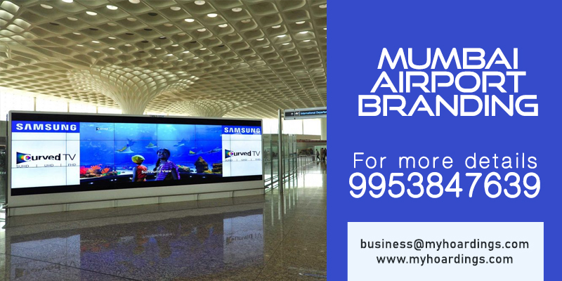 MyHoardings is leading Airport Advertisement Agency in Mumbai. Call 9953847639 for Airport Advertising in Mumbai. Branding on Mumbai and Indian Airports.