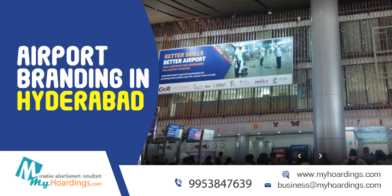 Hyderabad Airport Advertising