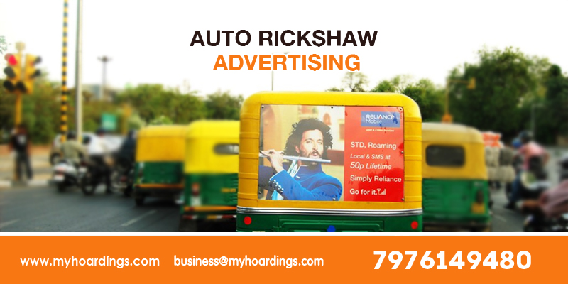 Auto Ads - OOH advertisement using Auto Ads in Delhi,Bengaluru,Pune !!