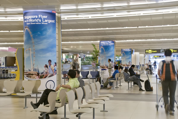 Airport Advertising Rates in India, Airline Ad Rates, TOP Airport Ad media, Airport Media buying, Airport Media planning