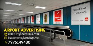 Airport advertising options, LED display boards at Indian Airports, Kolkata Airport Trolley Ads, Advertising Agency
