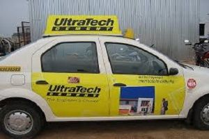 Taxi advertising services