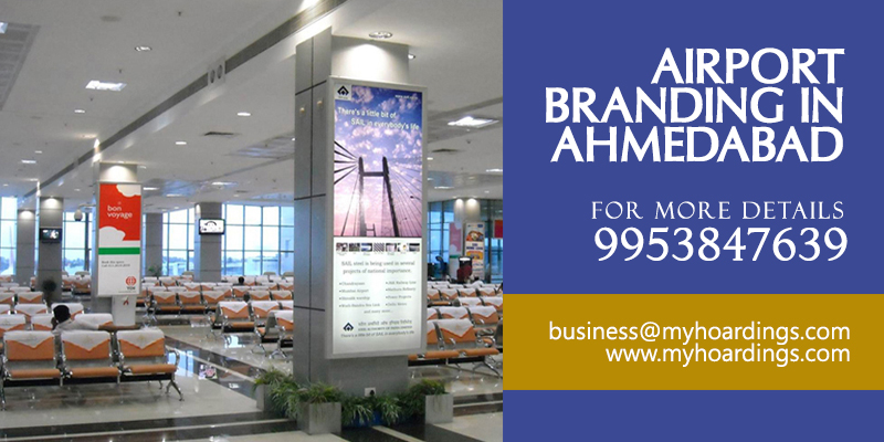 Airport Branding in Ahmedabad,Gujarat Airport Branding,Airport advertising company in India
