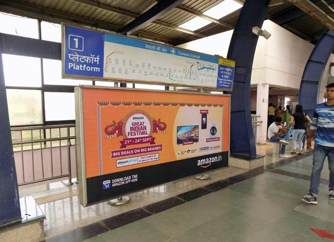 Delhi Metro Station Branding,Metro Station Advertising in Delhi,Delhi Metro Branding