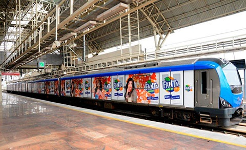 Train Branding,Train advertising services in Chennai. Train branding is premier form of OOH advertisement in Chennai