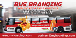 Bus Advertising on KSRTC Buses, RSRTC Bus branding,DTC bus Advertising,UPSRTC and MPSRTC Bus Branding