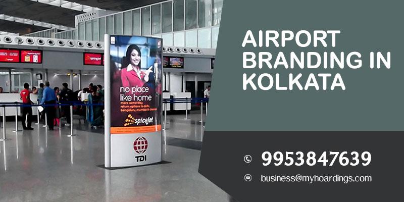 Airport Branding in Kolkata