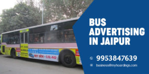 Bus Advertising in Jaipur