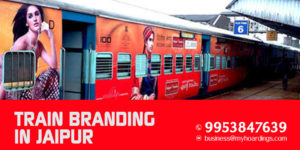 Train Branding in Jaipur
