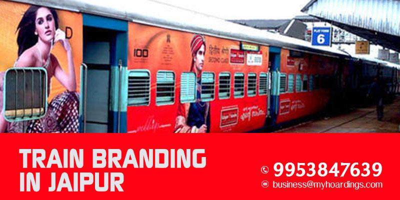 Train Branding in Jaipur