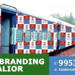 Train Branding in Gwalior