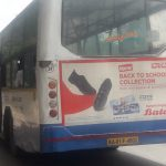 "Bata opts for ""Non AC BMTC Bus branding"" in School Opening Season"