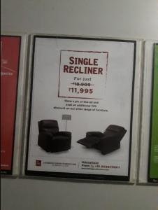 Lift Branding for Looking Good Furniture in Bangalore.RWA Advertising in bangalore. Elevator Ads in Bangalore