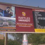 Raffles University chose MyHoardings as Outdoor Media partner !!
