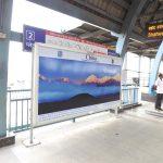 "China tourism chooses advertising at Delhi Metro to promote Tourist destination ""Yunnan"""