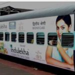 Train advertisement-Medium getting maximum ROI for brand visibility !!
