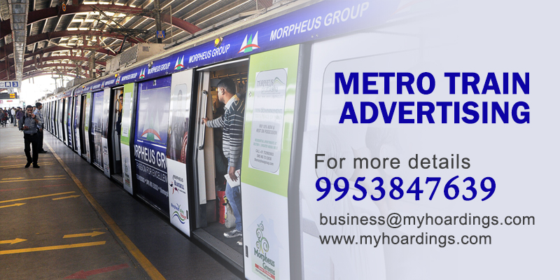 Bengaluru Metro Train Advertising. Best rates of Metro Train Branding in Bangalore.Namma Metro Ad Agency