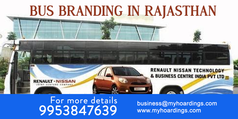 Bus Advertising in Rajasthan. Best Bus Branding Agency in Rajasthan, Who have RSRTC advertising tender? Bus advertising cost in Rajasthan and Delhi