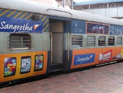 Train Branding in Bhubaneshwar, Train Advertising in Bhubaneshwar, Odisha train advertising agency, Odisha Hoardings