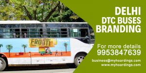 Bus Advertising in Delhi. Get best offers on bus branding on DTC buses from MyHoardings. TOP transit media ad agency in India.