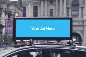 Car Top Ad, Taxi Top advertisement, LED Car Ad, Car top branding India